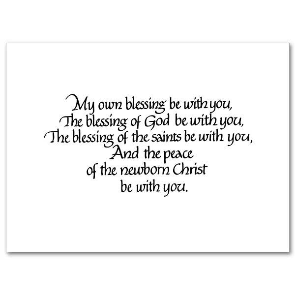 An Irish Blessing for Christmas