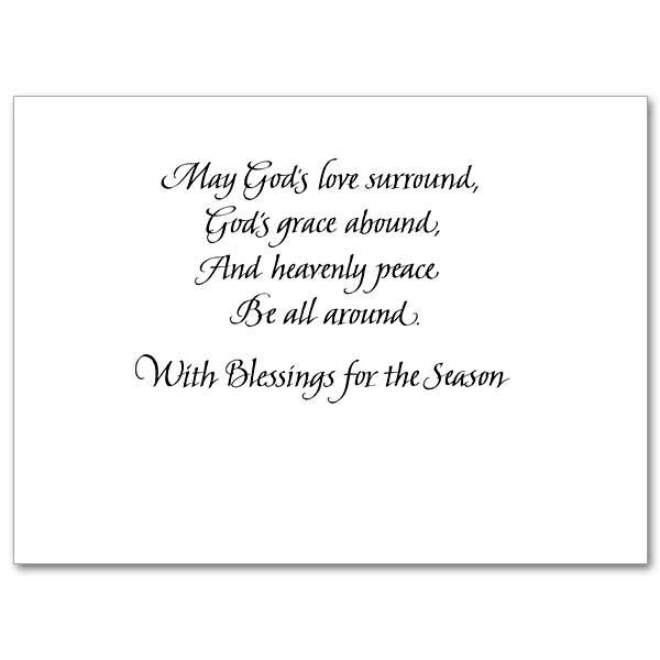 A Christmas Prayer: Christmas Spirit Card