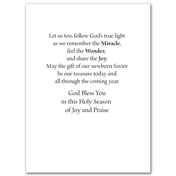 Let Us Follow God's True Light