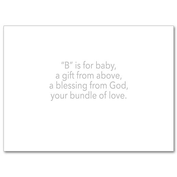 To Welcome Your Newest Blessing