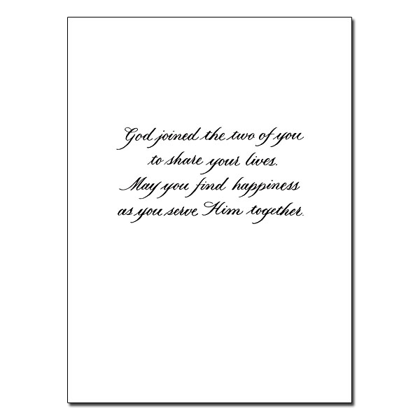 on your wedding day  wedding congratulations card
