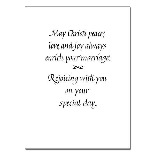 Religious Wedding Wishes Quotes