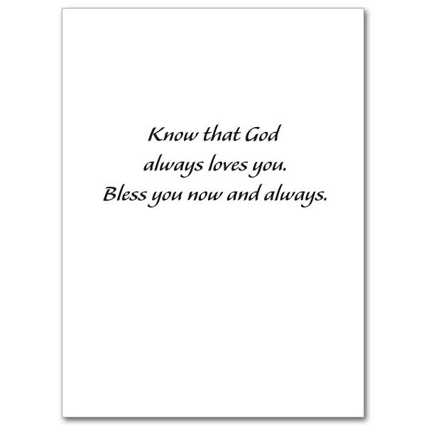 Know That God Always Loves You