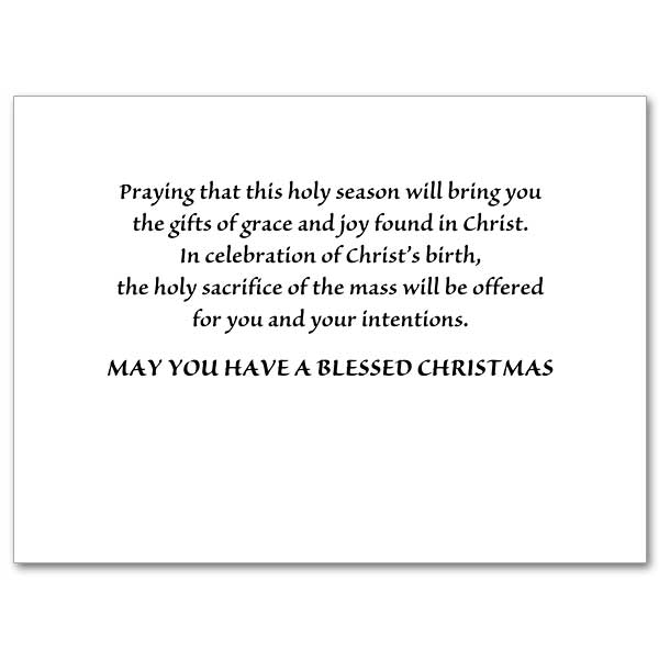 Christmas Mass Card General