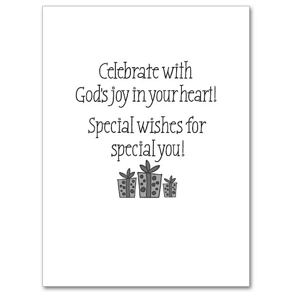 Celebrate with God's Joy in Your Heart