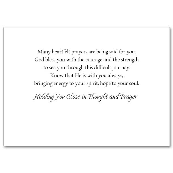 God Grant You Courage as You Face Cancer Treatment
