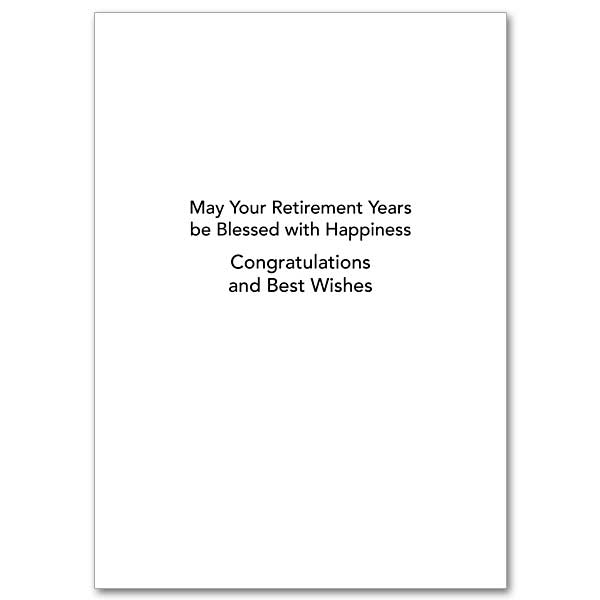 May Your Retirement Years Be Blessed with Happiness