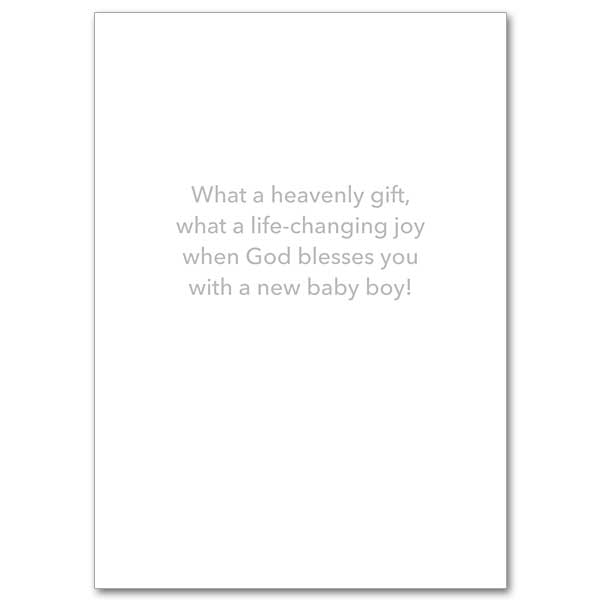 You've Been Blessed with a Baby Boy