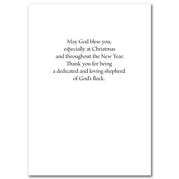 Christmas Blessings, Pastor