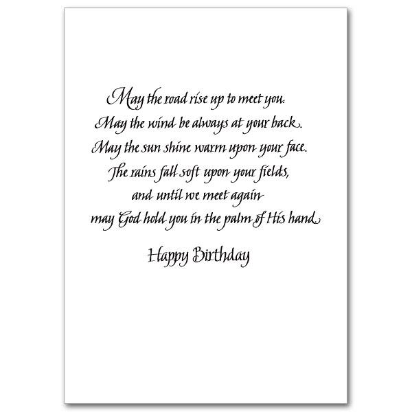 A Birthday Blessing Photo Birthday Card