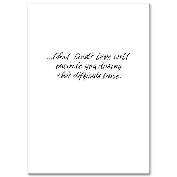God's Love Will Encircle You