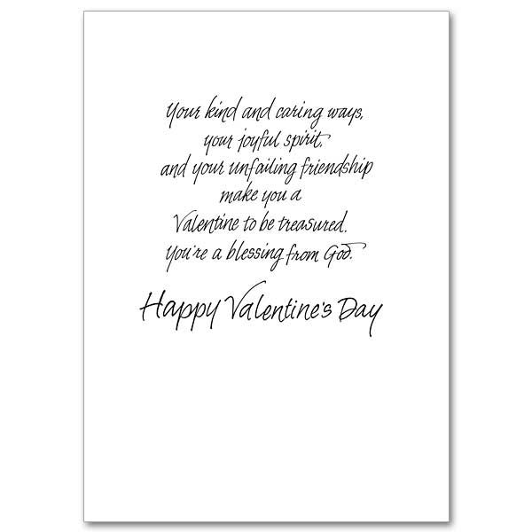 For a Dear Friend on Valentines Day: Valentine's Day Card