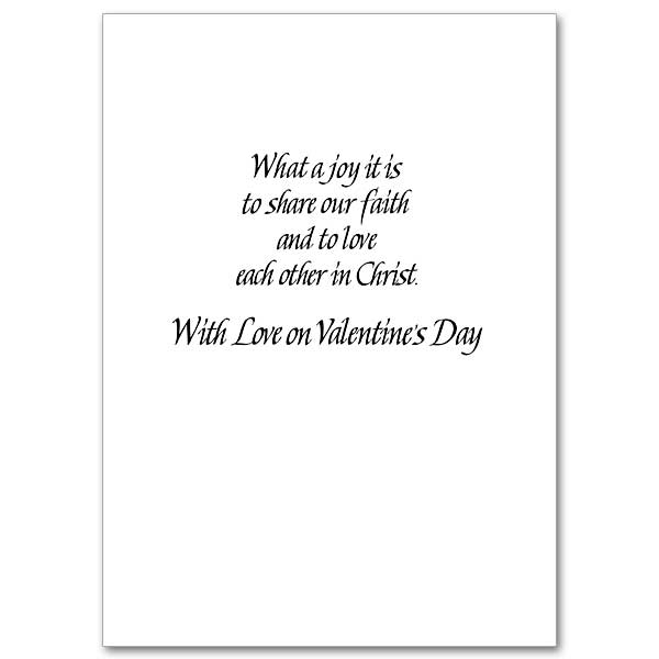 You'll Always Be My Valentine: Valentine's Day Card