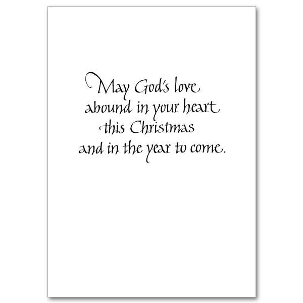God's Love Abound in Your Heart