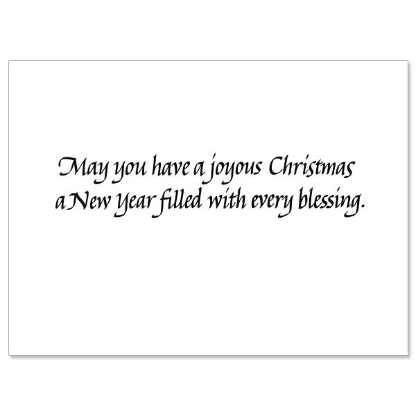 May you have the gladness of Christmas which is HOPE