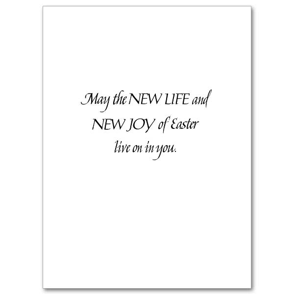 New Life, New Joy