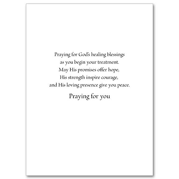As You Begin Treatment