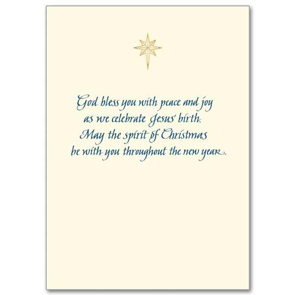 A Christmas Prayer: Christmas Classics Splendor Card
