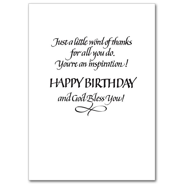 For a Special Priest on His Birthday Birthday Card – Happy Birthday Greeting Text