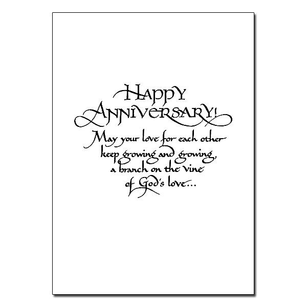 On Your Wedding Anniversary: General Wedding Anniversary Card