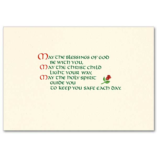 Imprinted Christmas Cards