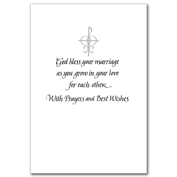 congratulations on your wedding day - Christian Wedding Card Messages