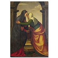 The Visitation of Virgin Mary to Elizabeth