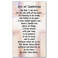 image about Act of Contrition Prayer Printable named Act of Contrition: Mini Print