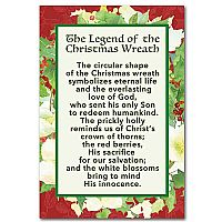 The legend of the christmas wreath christmas mini print 0 35