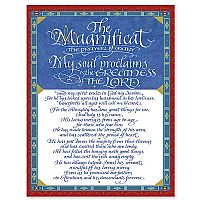 Magnificat in Flourished Calligraphy