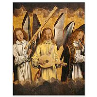 Christ with Singing Angels (Memling)