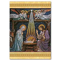 Beuronese Mosaic Nativity