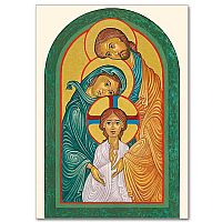Icon of Mary, Jesus, and Joseph