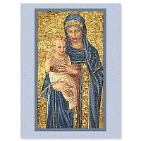 Mosaic Madonna and Child