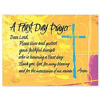 A Feast Day Prayer