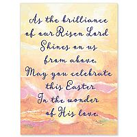 As the Brilliance of Our Risen Lord