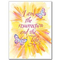 I am the resurrection and the life...