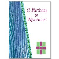 A Birthday to Remember