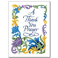 A Thank You Prayer