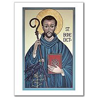 St. Benedict Icon (McGough)