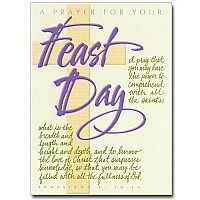 A Prayer for Your Feast Day