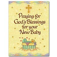 Praying for God's Blessings for your New Baby