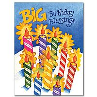 Christian birthday cards buy religious birthday card assortment big birthday blessings bookmarktalkfo Choice Image