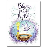 Blessings on Baby's Baptism