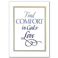 Find Comfort in God's Love