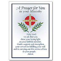 Priest ministry appreciation cards buy christian greeting card a prayer for you in your ministry m4hsunfo