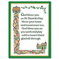 God Bless You on St. Patrick's Day