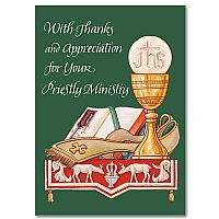 With Thanks and Appreciation for Your Priestly Ministry
