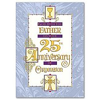 God Bless You, Father, on Your 25th Anniversary