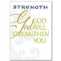 God Will Strengthen You